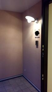 外壁のジョリパットの塗り壁がいい感じです!
