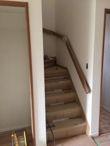 シャレオツの階段手摺です。